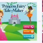 Princess Fairy Tale Maker. Escrevendo a própria historia no iPad.