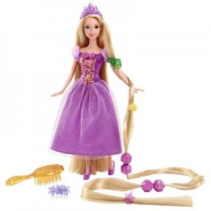 Barbie Rapunzel: R$ 129,00