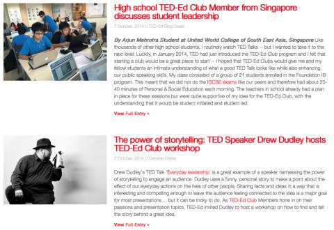 Recursos e inspirações para Educadores no TED-Ed Clubs