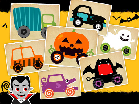 labo halloween car interna