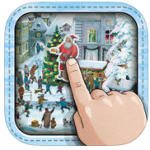 Wimmelbuch Activity Book, Christmas icon