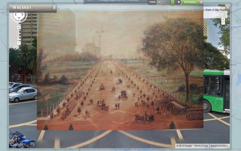 Fade: Av Paulista, hoje e em sua inauguração (1891)
