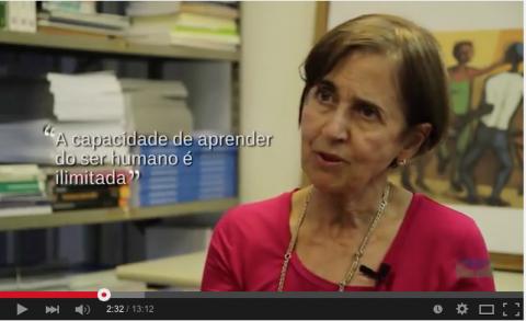 Prof Eunice Soriano de Alencar, Instituto de Psicologia da UnB: projetar o ensino para o futuro - a criatividade na Educação