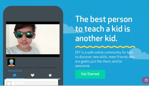 DIY.org: A melhor pessoa para ensinar uma criança é outra criança