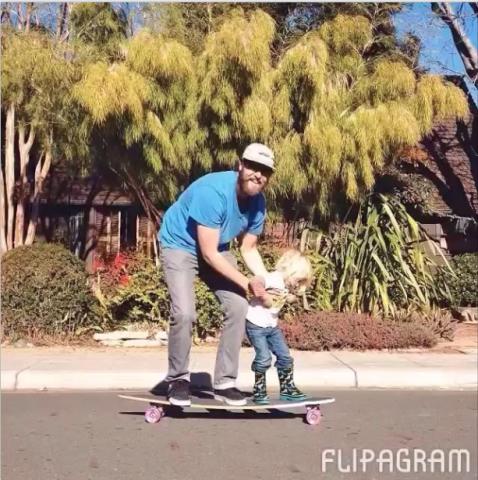 flipagram pai e filho