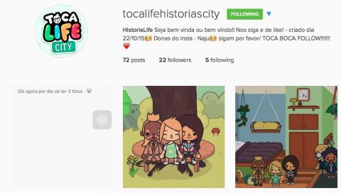 Fãs brasileiros no Instagram