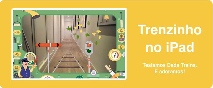 Dada Trains. Arte, inovação para brincar de trem.