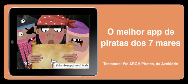 We ARGH Pirates. O melhor app de piratas dos sete mares