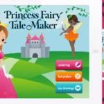 Princess Fairy Tale Maker. Escrevendo a própria historia no iPad.