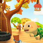 Para brincar de casinha no iPad: Dr Panda e Toto.