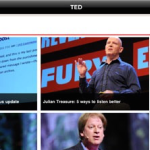 TED: os grandes pensadores do mundo no iPad. E na sala de aula